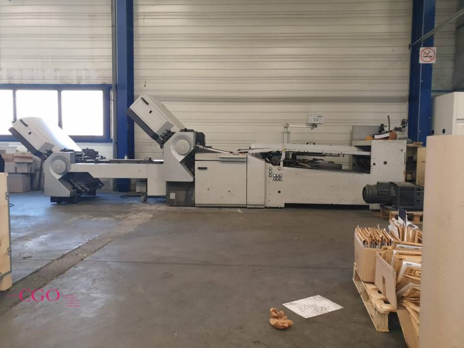 Heidelberg Stahl TD 82 6/4 with Palam folder