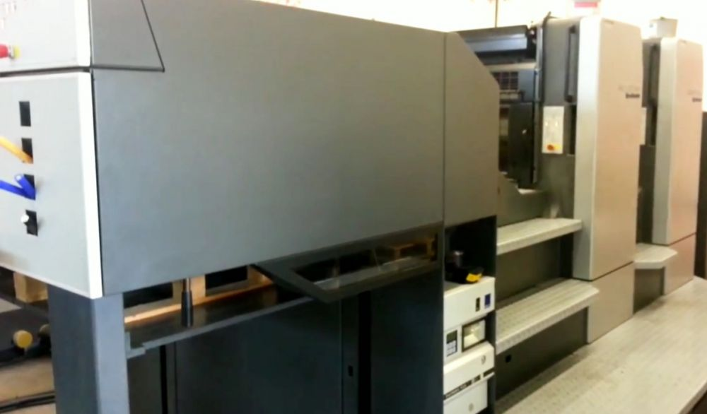 HEIDELBERG SM 52-5 sheetfed offset 5 colors and +