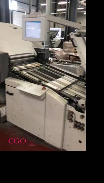 Heidelberg GTOZP 46 sheetfed offset 2 colors