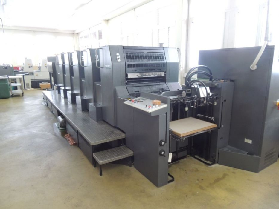 HEIDELBERG  SM 74 - 5 H sheetfed offset 5 colors and +