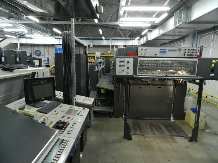 BOBST SPANTHERA 106 LE die-cutter