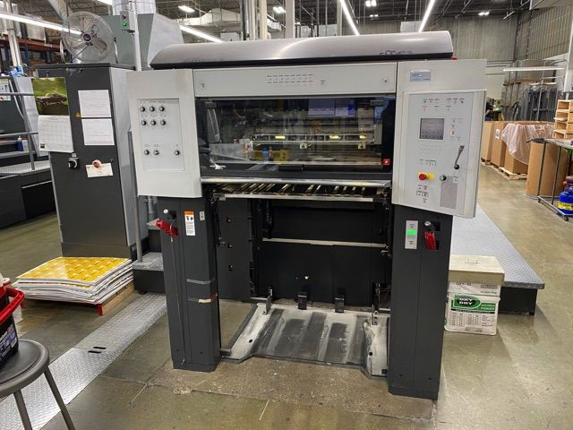 HEIDELBERG CD74-7P+LX-F  sheetfed offset 5 colors and +