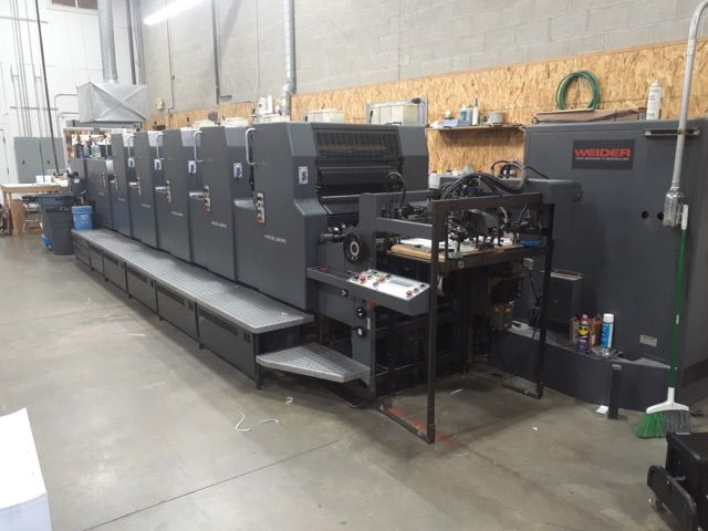HEIDELBERG MOFPH+L sheetfed offset 4 colors