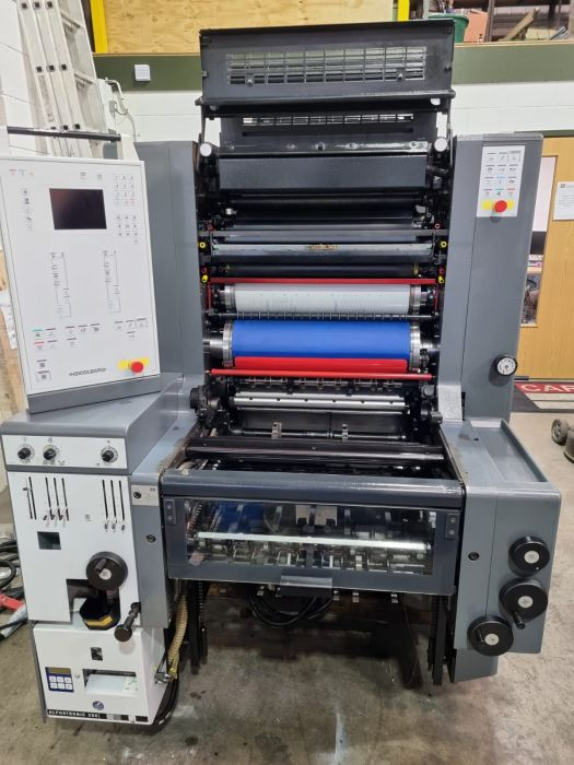 HEIDELBERG   52 2  NP sheetfed offset 2 colors