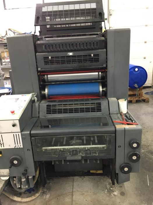 HEIDELBERG CD 74-5P+L sheetfed offset 5 colors and +