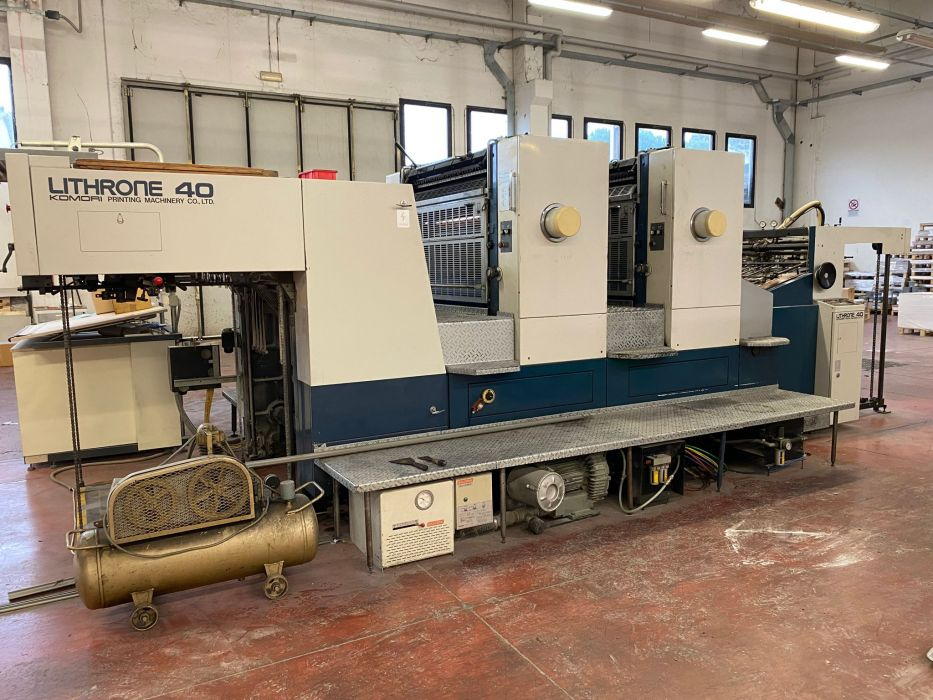 KOMORI LITHRONE L-240 sheetfed offset 2 colors